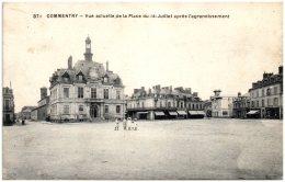 03 COMMENTRY - Vue Actuelle De La Place Du 14 Juillet Après L'agrandissement - Commentry