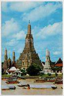 BANGKOK   WAT  AROON   ,TEMPLE  OF  DAWN            2 SCAN      (VIAGGIATA) - Tailandia