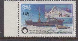 Chile 1987 Antarctica 1v ** Mnh (40979E) - Chile