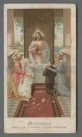ES5161 SS. Sacramento RICORDO DELLA PRIMA COMUNIONE Santino - Religione & Esoterismo