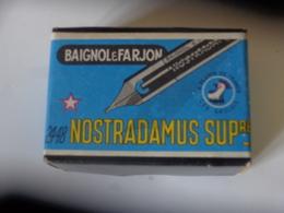 1 Boite Complete Non Ouverte Baignol Et Farjon Ref 2448 Nostradamus Superieure A Plume De France Coq Gaulois - Plumes