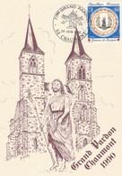 77° GRAND PARDON CHAUMONT 1990 - TIMBRE OBLITERE DES FAIENCES DE QUIMPER: 1690/1990 LE 24 JUIN - A SCANNS - - Cristianesimo