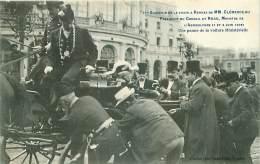 35.RENNES.N°17174.SOUVENIR DE LA VISITE A RENNES DE Mr CLEMENCEAU.UNE PANNE DE VOITURE MINISTERIELLE - Rennes