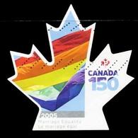 Canada (Scott No.3007- 150e Du Canada / Vanata 150th) (o) - 1952-.... Règne D'Elizabeth II