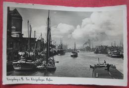 Kaliningrad / Königsberg I. Pr. - Im Königsberger Hafen - Ostpreussen