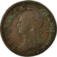 Monnaie, France, Dupré, 5 Centimes, AN 5, Paris, TB, Bronze, KM:635.1, Le - 1789-1795 Period: Revolution