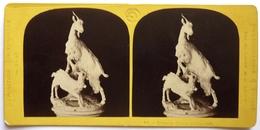 EXPOSITION UNIVERSELLE De 1867 - GROUPES DE CHÈVRES . PAR LOMBARDI - Photos Stéréoscopiques