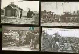 AISNE SUPERBLE LOT ENORMENT DE TOPS CARTES 1,80 EUROS LA CARTE - Postcards