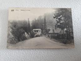 POIX  Passage à Niveau Oblitéré Dans Les Années 20 - Saint-Hubert