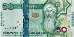 Turkmenistan - Pick 33 - 50 Manat 2014 - Unc - Turkménistan