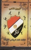 EGYPT , 2017, MNH, SPORTS UNIONS, GOLF, VOLLEYBALL, FOOTBALL, TENNIS, 1v - Andere