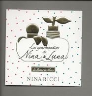 Carte  à Parfumer     NINA RICCI - Modernes (à Partir De 1961)