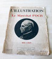 01- Ancienne REVUE L'ILLUSTRATION -  HORS SERIE 6 AVRIL 1929 - LE MARECHAL FOCH - Theatre