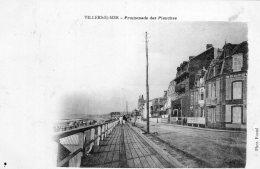 1052 -  Cpa 14 Villers Sur Mer - Promenade Des Planches - Villers Sur Mer