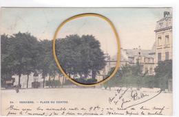 """VERVIERS ACP """"Place Du Centre (Albert Ier )  Circulée En 1913  Voir Scans - Verviers"""