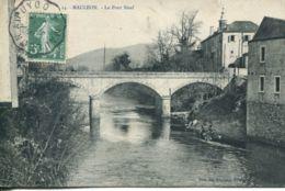N°2179 A -cpa Mauleon -le Pont Neuf- Cachet Convoyeur- - Mauleon
