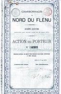CHARBONNAGES Du NORD DU FLÉNU - Mines