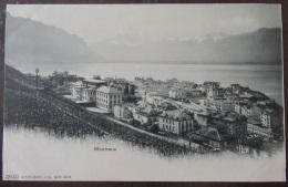 Suisse - Montreux (Vaud) - Carte Postale Précurseur - Panorama - Burgy - Non-circulée - VD Vaud