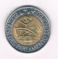 500 LIRE 1999 ITALIE /6831/ - 1946-… : Republic