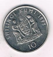 10  SHILINGI 1993 TANZANIA /6834/ - Tanzania