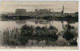 GOVERNATORATO  ISMAILIA    KARNAK  VUE  GENERALE  1915    (CENSURA)     2  SCAN   (VIAGGIATA) - Ismailia
