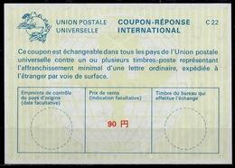 JAPAN / JAPON La22A  90 YEN  International Reply Coupon Reponse Antwortschein IAS IRC  Mint ** - Interi Postali