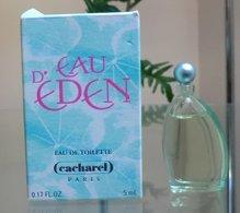 EAU D' EDEN - EDT 5 ML De CACHAREL - Miniatures Modernes (à Partir De 1961)