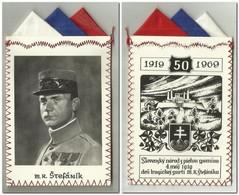 Slovakia - M. R. Stefanik - Commemorative 1919 - 1969 - Army & War