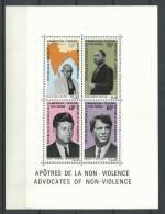 "Cameroun Bloc YT 5 "" Apôtres De La Non-violence "" 1968 Neuf** - Cameroon (1960-...)"