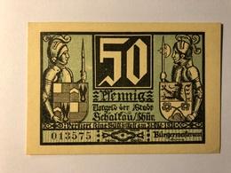 Allemagne Notgeld Schaltau 50 Pfennig - [ 3] 1918-1933 : République De Weimar