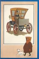 CHEQUE TINTIN - HERGE - VOIR ET SAVOIR - AUTOMOBILE - VOITURE FERMÉE GAUTHIER WEHRLÉ - ORIGINE À 1900 - SERIE 3 - N° 50 - Bandes Dessinées