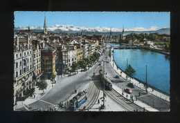 Suiza. ZH. Zürich. *Limmatquai* Ed. Photoglob-Wehrli A.G. Nº 154. Circulada 1963. - ZH Zurich