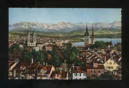 Suiza. ZH. Zürich. *Zürich Vom Der Urania Aus* Ed. Photoglob-Wehrli A.G. Nº 15. Nueva. - ZH Zurich