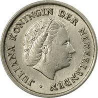 Monnaie, Pays-Bas, Juliana, 10 Cents, 1958, TB+, Nickel, KM:182 - [ 3] 1815-… : Kingdom Of The Netherlands