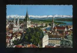 Suiza. ZH. Zürich. *Zürich Und Die Alpen* Ed. Photoglob-Wehrli A.G. Nº 15. Circulada. - ZH Zurich