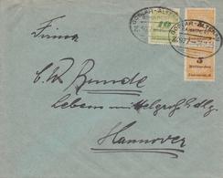 Allemagne Ambulant Goslar-Altenau Sur Lettre Inflation 1923 - Lettres & Documents
