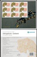 SWEDEN 2015 Viking Art: Souvenir Sheet UM/MNH - Blocks & Sheetlets