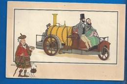 CHEQUE TINTIN - HERGE - VOIR ET SAVOIR - AUTOMOBILE - TRICYCLE VAPEUR RICKETT - ORI À 1900 - SERIE 5 - N° 19 - Bandes Dessinées
