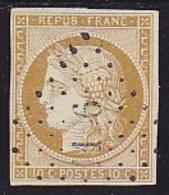N° 1 Oblit. Signé CALVES - Voir Verso & Descriptif - 1849-1850 Cérès