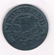 25 CENTS 1941 NEDERLAND  /6850/ - [ 3] 1815-… : Kingdom Of The Netherlands