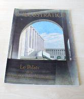 08- Ancienne REVUE L'ILLUSTRATION -  Palais Société Nation - N°4963 / AVRIL 1938 - Theatre