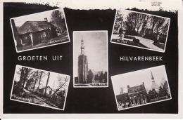 1947117Hilvarenbeek, Groeten Uit Hilvarenbeek 1951 (kleine Vouw Linksonder) - Nederland