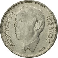 Monnaie, Maroc, Al-Hassan II, Dirham, 1969/AH1389, Paris, TTB, Nickel, KM:56 - Maroc