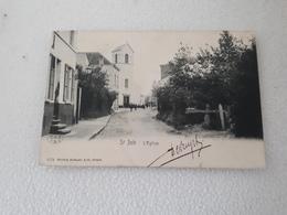 ST JOB  L'Eglise  Oblitéré En 1906 - Ukkel - Uccle