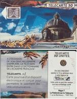 F115A 550 TELECARTE La COUPOLE 5 STYLETS N° 18632 COTE 50€  POSSIBLE LIVRE LA MEME N° 18533  AU CHOIX - France