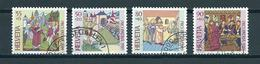 1989 Switzerland Complete Set Pro Patria Used/gebruikt/oblitere - Pro Patria
