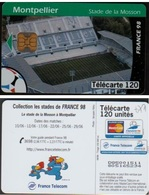 F877 TELECARTE MONTPELLIER STADE La MOSSON 120 U  PUCE OB2 1998/06 - France