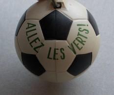 """- Porte Clés. Mètre Ballon De Foot. Allez Les Verts. """" ASSE """" Saint Etienne - 70/80 - - Apparel, Souvenirs & Other"""