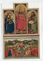 ART / PAINTING - AK 335473 Jan Van Eyck - De Annbidding Van Het Lam - Peintures & Tableaux