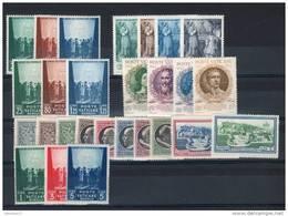 VATICANO / VATICAN CITY 1942-1945 --ANNATE COMPLETE -- YEARS COMPLETE **MNH - Vaticano